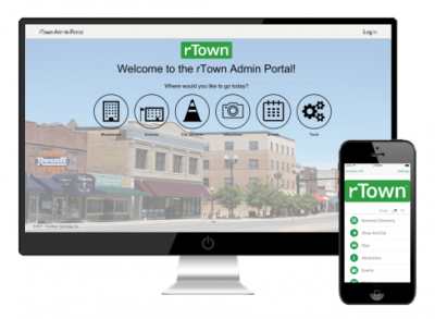 rTown Admin Portal and Mobile Application